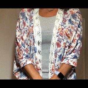 Olive & Oak Sweaters - Olive + Oak Womens Cardigan Boho Top Size large
